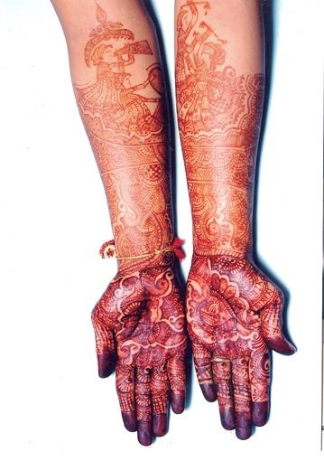 bridal mehndi designer