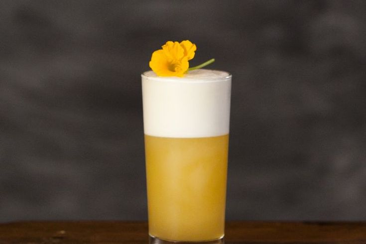 Tangerine Gin Fizz recipe on Food52