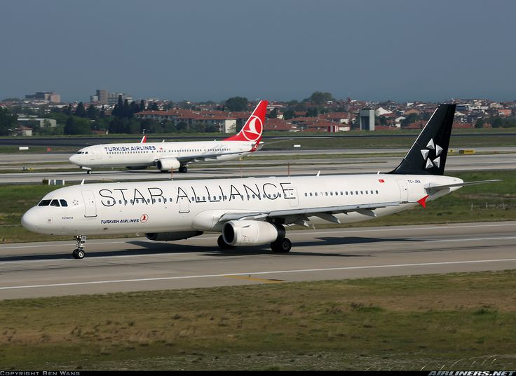 "Turkish Airlines Airbus A321-232 ""Star Alliance LogoJet"""