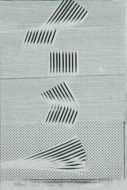 Bruno Munari's Original Xerographies ca. 1969.
