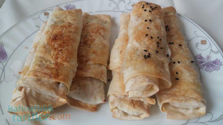 Akşamdan hazırlayıp pişirin, #sahurda taze taze yeyin. İşte fırında #sigaraböreği tarifi!