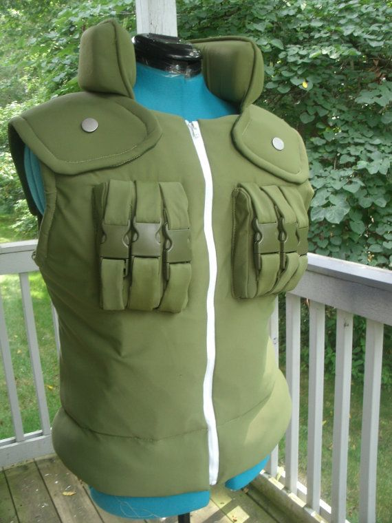 Hey, I found this really awesome Etsy listing at https://www.etsy.com/ca/listing/160922003/naruto-flak-jacket