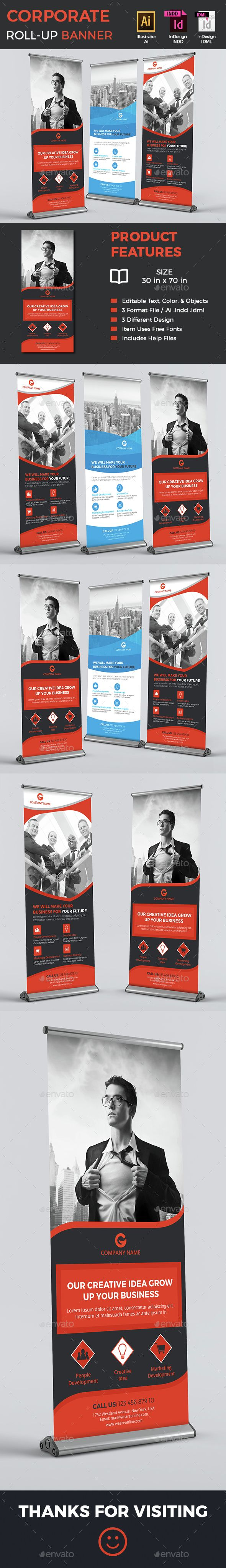 67 best roll up banner images on pinterest