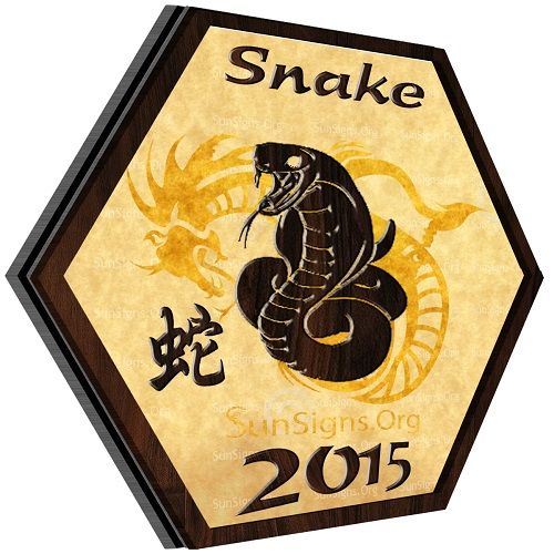 °Snake Horoscope 2015: Chinese astrology predictions 2015 for the Snake forecast a prosperous year.