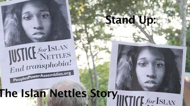 The youth Stand Up for Islan Nettles!