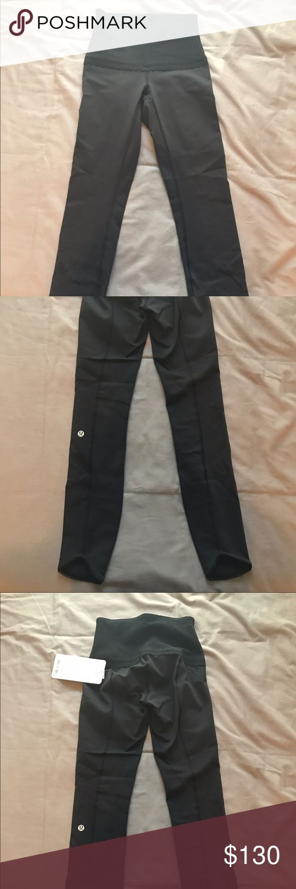 NWT LULULEMON 7/8 BLACK FREE SPIRIT PANT NWT lululemon free spirit pants in size 2! These are rare and have never been worn and are in the color black, they are 7/8 length! I'm willing to negotiate with reasonable offers!! Happy shopping!! lululemon athletica Pants Leggings