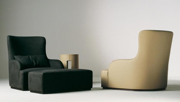 Кресло Meridiani Liu skin