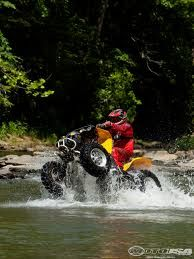 Love riding in water its a blast on a hot summer day