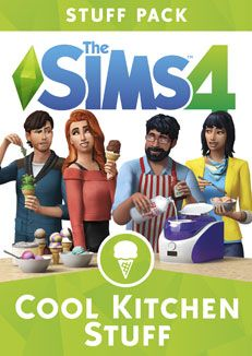 The Sims 4 Cool Kitchen Stuff Pack boxart