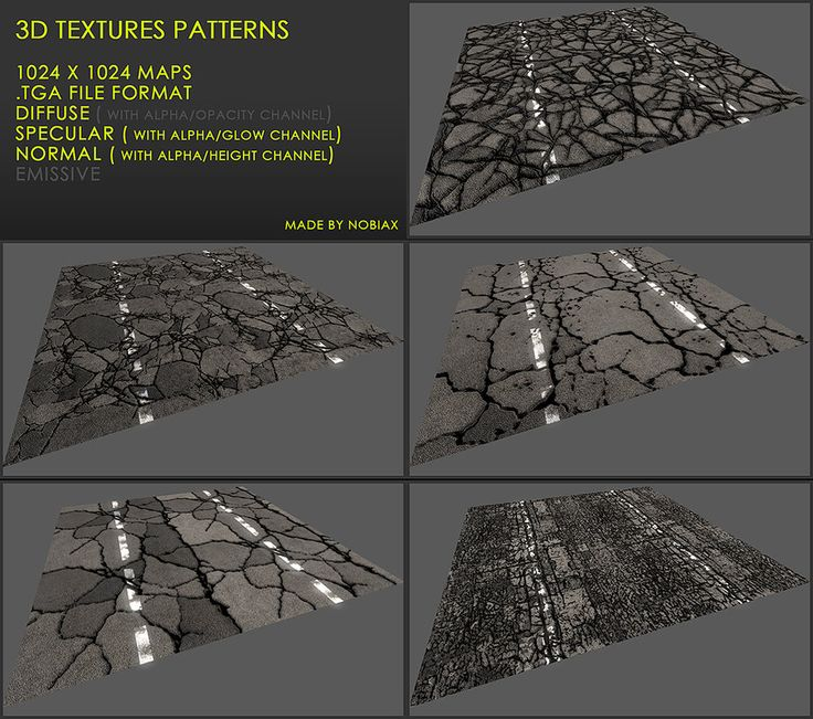 Free 3D textures pack 27 by Nobiax