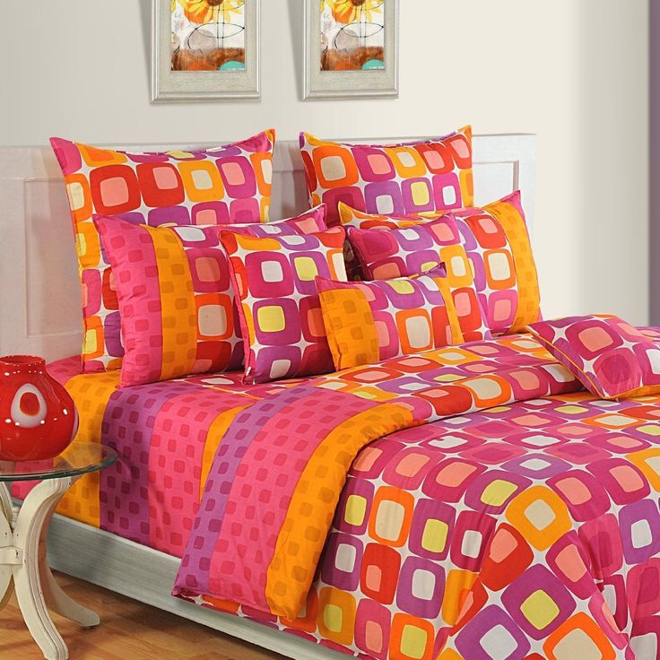 new twin queen king size bed sheet comforter duvet cover pillow set bed in bag