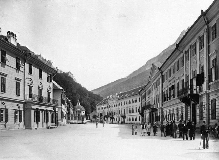 Băile Herculane - 1900
