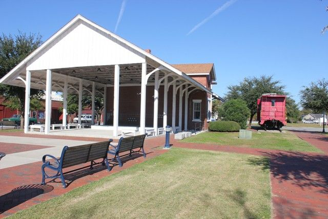 Check Out The Old Train Depot In Downtown Jacksonville At The Riverwalk Crossing Park Vacation