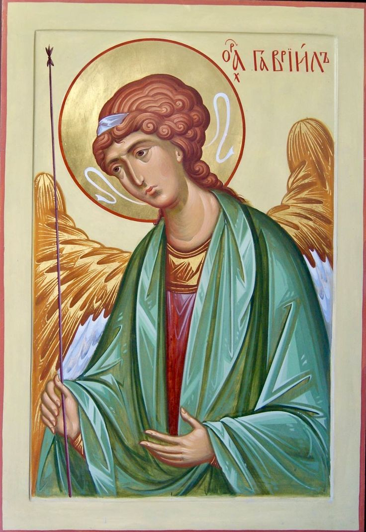 Archangel Gabriel by Anton & Ekaterina Daineko