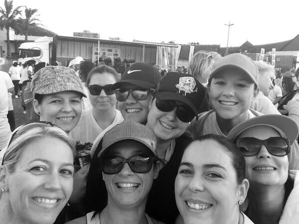 How many people can you fit in a selfie?? #bigwalkdurban  #selfie