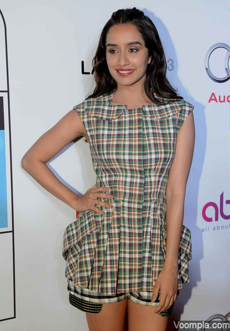 Shraddha Kapoor breaks red carpet rules and picks a casual Dior romper for HT Most Stylish's event. via Voompla.com