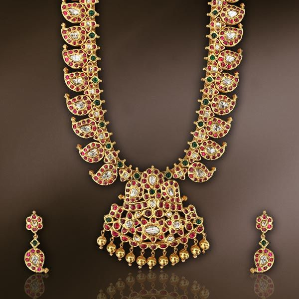 | Mango mala | Pinterest | South Indian Jewellery, Indian Jewellery