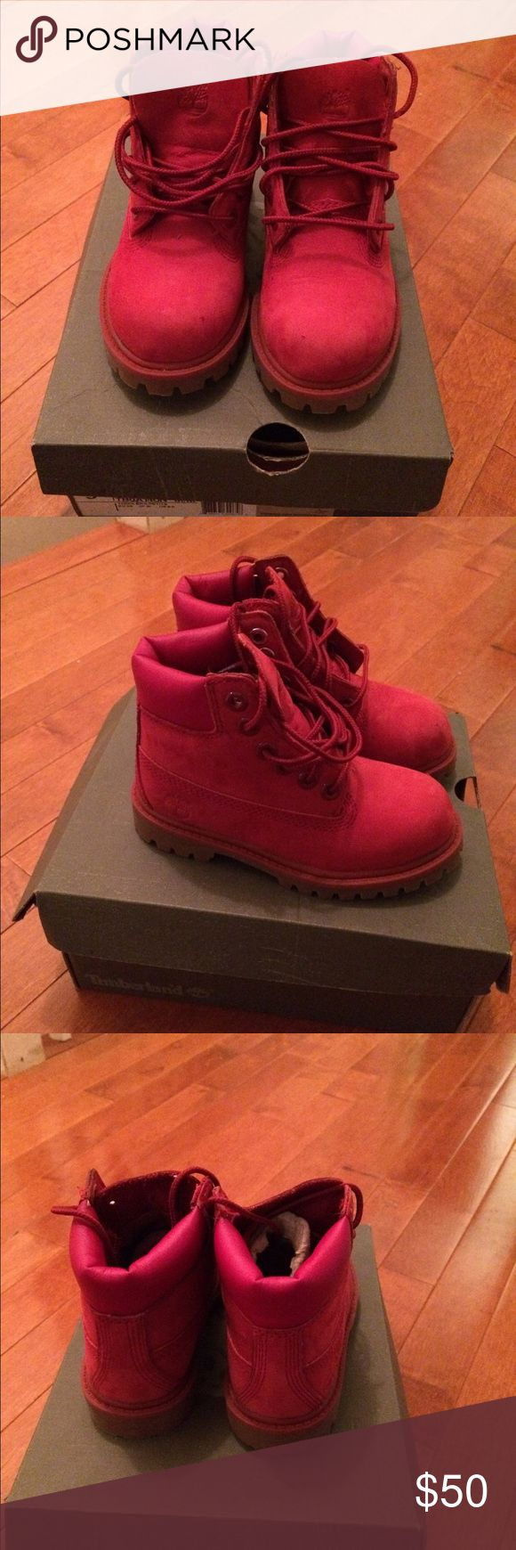 toddler boy timberland boots size 9