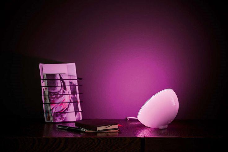 Philips Hue LED Lampka przenośna Living Colors Go Biała 7146060PH : System Hue LED - Nowość : Sklep internetowy Elektromag