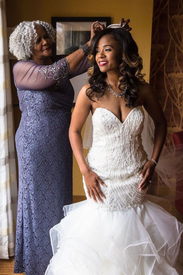 low cost wedding dresses in atlantga%0A   Walk of Faith    Adrianne and Marcus u    s Gorgeous Winter Wedding in Atlanta