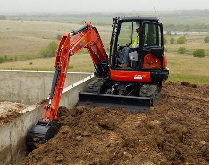 Kubota Tractor Corporation - Construction Equipment | KX Series | KX057-4 Compact Excavator