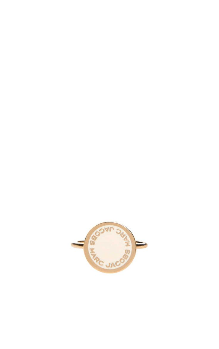 Ring Logo Disc CREAM/GOLD - Marc Jacobs - Designers - Raglady