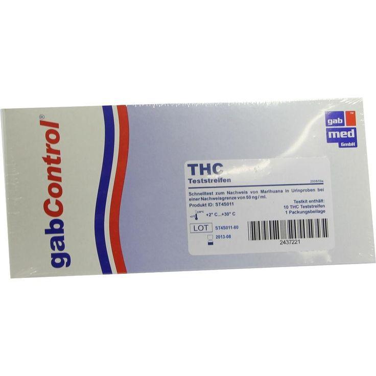 DROGENTEST THC Teststreifen:   Packungsinhalt: 10 St Teststreifen PZN: 02437221 Hersteller: gabmed GmbH Preis: 22,54 EUR inkl. 19 % MwSt.…