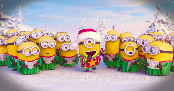 17 Best Images About Holiday Minions On Pinterest