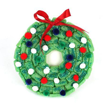PlayMais Christmas wreath / Couronne de Noël en Playmaïs | DeSerres