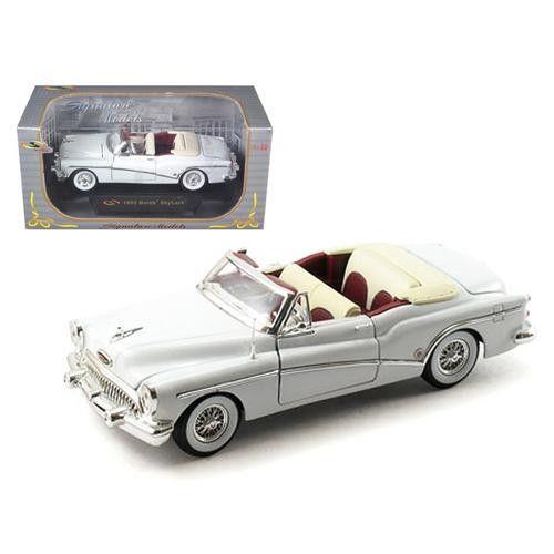1953 Buick Skylark White 1/32 Diecast Model Car by Signature Models