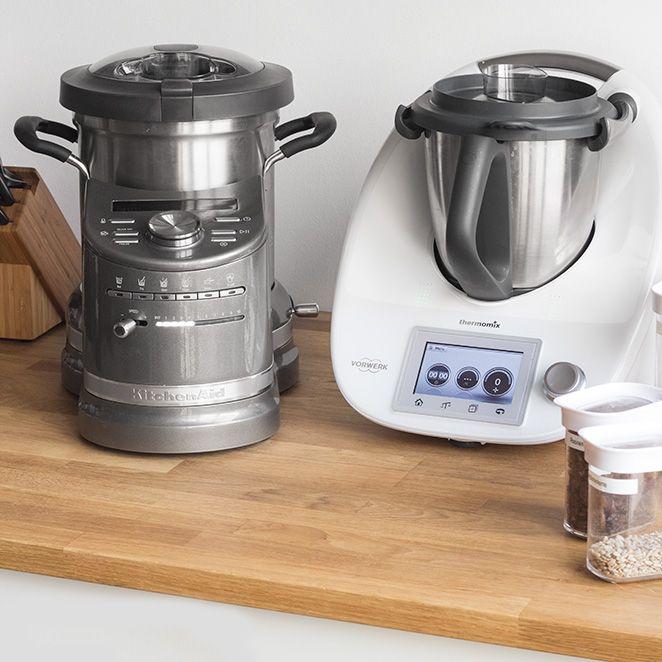 Cook Processor KitchenAid vs. Bimby TM5 - la sfida tra robot da cucina - Springlane Magazine