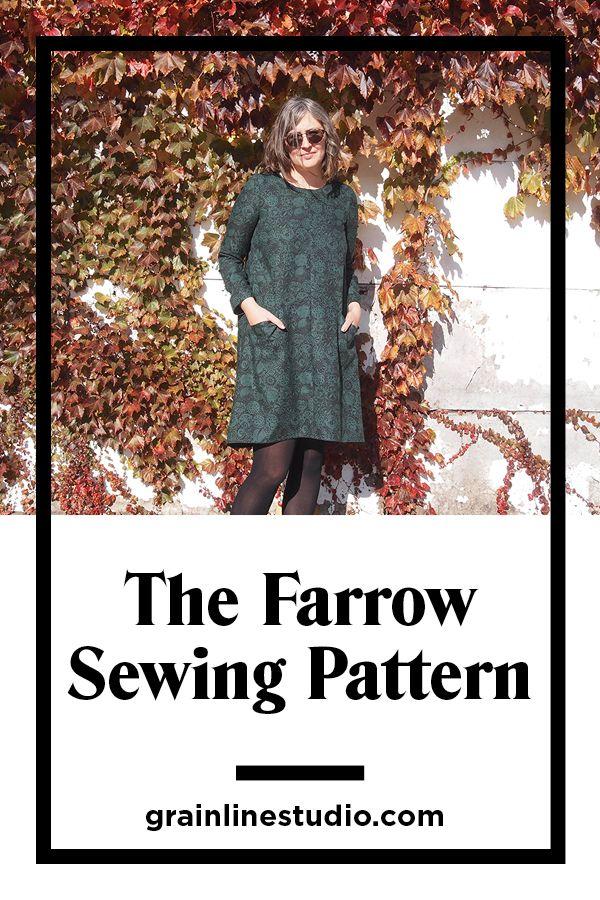 7f9a45ee450 The Farrow Dress Sewing Pattern by Grainline Studio