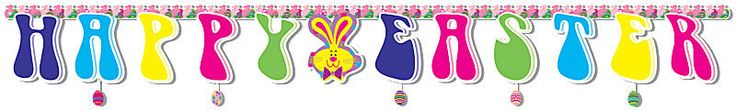 happy easter banner Case of 22