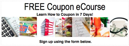 Free online coupon course to learn how to save more on your groceries!