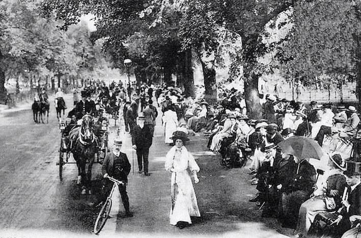 Hyde Park Rotten Row London Early 1900s London Pictures