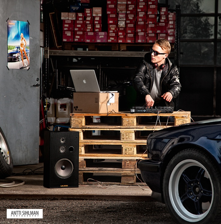 DJ-photo shoot