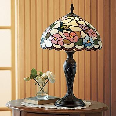 Dale Tiffany Hummingbird Table Lamp