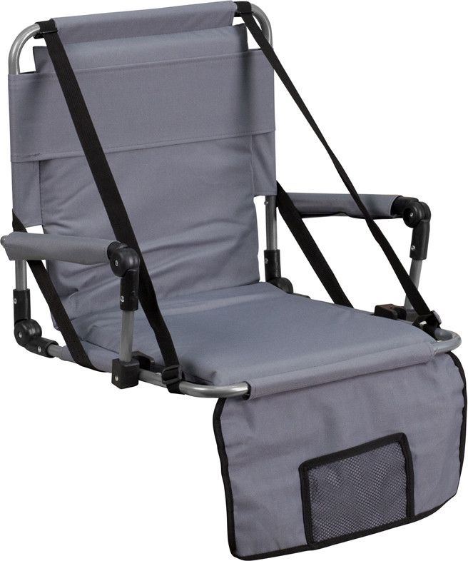 Amazing Flash Furniture TY2710 GY GG Folding Stadium Chair In Gray | Products |  Pinterest | Products