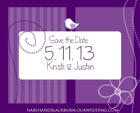 A wedding announcement I made for my friend