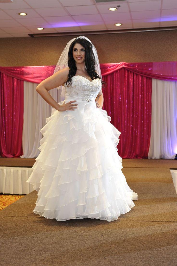 Plus Size Bling Wedding Dresses