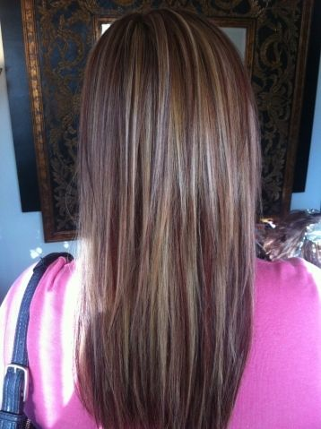 highlights and lowlights for brunettes | Highlights and Lowlights