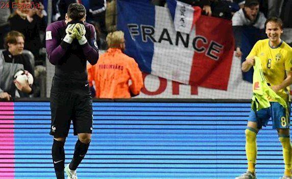 Francia pierde tras un error descomunal de Lloris en el añadido