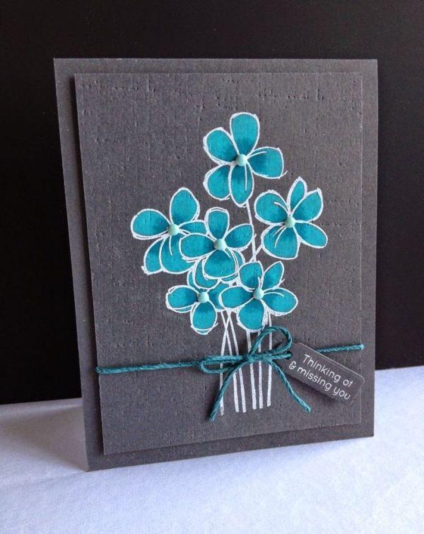 самодельные открытки из цветной бумаги
