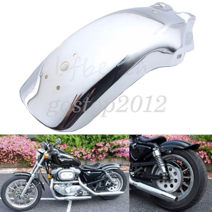 Motorcycle Chrome Rear Fender Mudguard For Chopper Cruisers Honda Shadow 1100 #Unbranded #RearFender