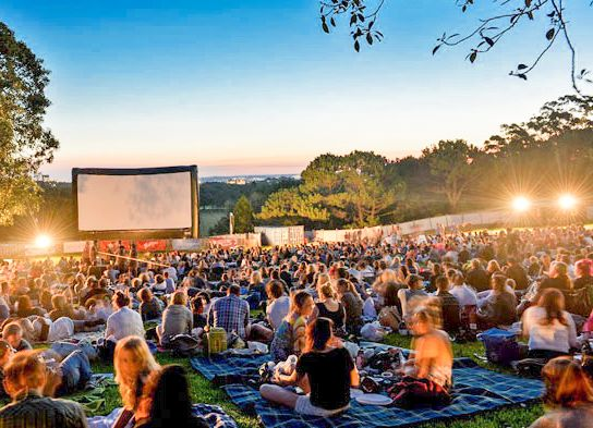 A favourite Perth summer activity; enjoying a picnic under the stars while watching the latest movies