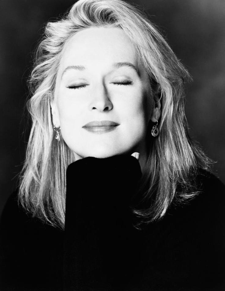 Meryl Streep, she's soooo good