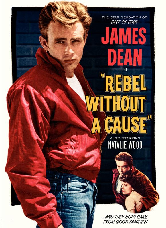CAST: James Dean, Natalie Wood, Sal Mineo, Jim Backus, Nick Adams, Dennis Hopper, Ann Doran, William Hopper, Rochelle Hudson, Corey Allen, Edward Platt; DIRECTED BY: Nicholas Ray; PRODUCER: Warner Bro