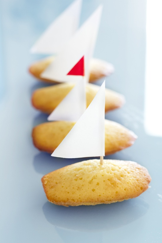 Madeleine as boats