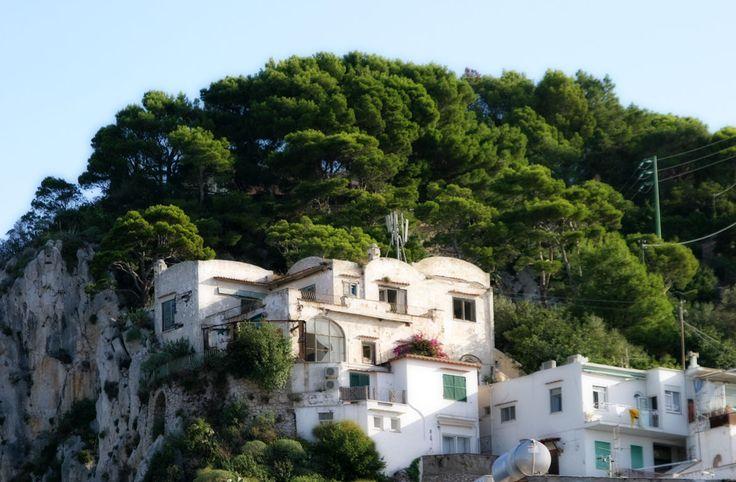 Typical Villa on Capri, Campania, Italy www.italyunfettered.com
