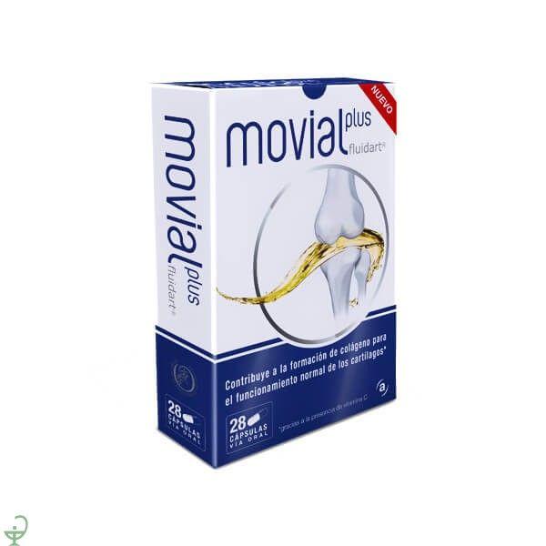 Si sientes dolor de #articulaciones prueba MOVIAL PLUS FLUIDART 28 CAP, con ácido hialurónico @Actafarma_com